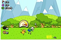 Play Agventure Time - Jumping Finn game
