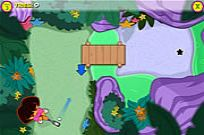 Play Dora's Star Mountain Mini-golf game