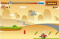 Play Bugs Bunny's Hopping Carrot Hunt game