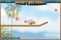 Play Rhino's Rollerball game