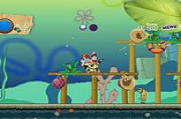 Play Sponge Bob And Patrick:dirty Bubble Busters game