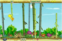 play tweety bamboo bounce play free games online