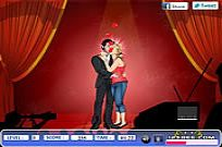 Play Celebrity New Year Kiss game
