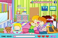 Play Babysitter's Love Story game