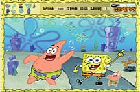 Play Spongebob - Hidden Objects game