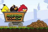 pelata Angry Birds Dangerous Railroad peli
