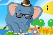 Play Baby Circus Elephant game