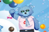 Play Smart Teddy Bear Dress Up game