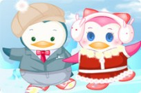 Play Dancing Penguin Couple game