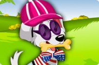 Play Puppy Dress Up game