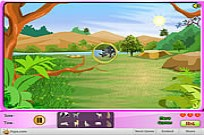 Safari Animals Search Game