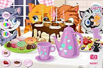 Play Kitty Tea Party game