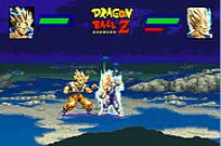 hrát Dragon Ball Z Power Level Demo hra