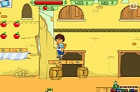 играя Diego Crystal Adventure игра