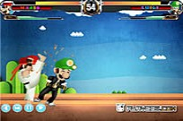 Play Mario Street Fight Game game