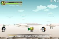 Play SuperChicken vs Penguins game