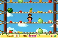 Play Dora Pick Fruits game