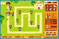 Play Mario Bros Defenses game