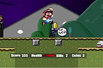 Play Super Mario Flash Halloween Version game