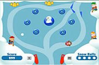 Play Snow Ball Pinball 2 game