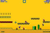 pelata Super Mario World Flash 2 peli