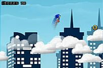 Play Sonic On Clouds game