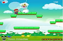Play Snowy Mario game