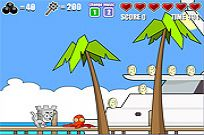 spielen Castle Cat 2 - The Miami Invasion Spiel