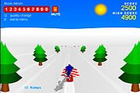 Play Sonic 3d Snowboarding game