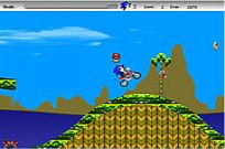 Play Sonic The Hedgehogs Moto game
