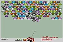 Play Halloween Bubble game