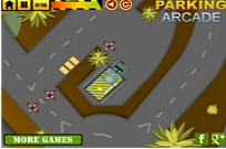Play Army Vehicles Parking game