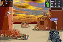 Play Terrorist Shootout game