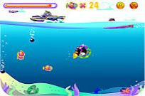 Play Penguin Dive game