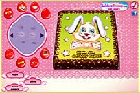 Play Easter Bunny Cake game