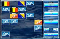 Play World Flag Memory-2 game