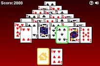 Play Pyramid Solitaire game