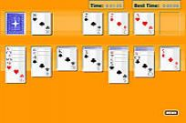 Play Solitaire Oldschool game