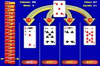 Play Card Blitz 21 game