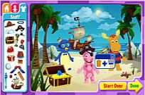 Play The Backyardigans Adventure Maker game