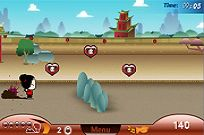 Play Pucca Pursuit game