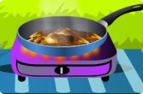 Play Make Breaded Veal Cutlets game