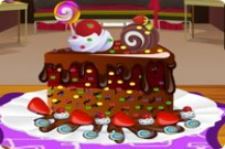 Play Chocolate Cake Decoration game