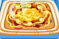Play Hot And Yummy Squared Pizza game