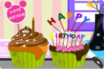 Play Birthday Cupcakes game