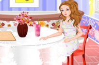 Play Barbie Coffee Time game