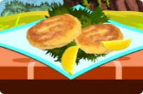Play Make Salmon Fishcakes game