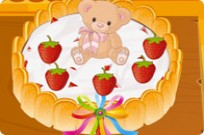 Play Chocolate Strawberry Birthday Cake game