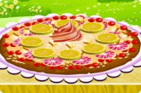 Play Fruit Pizza Deco game