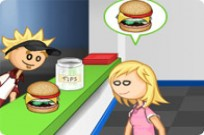 Play Papas Burgeria game